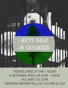 Art Walk at Cascadia Brewery @ Cascadia Brewing Co.