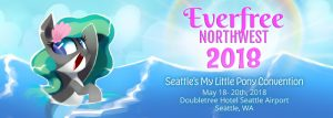Everfree Northwest, Seattle's My Little Pony Fan Convention! @  DoubleTree Hotel Seattle Airport        