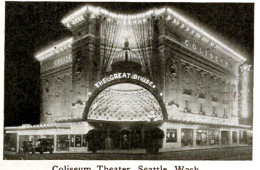 The Grand Coliesum Theater on Pike & 5th Ave. in Seattle circa 1916 - Featured in This Week in Cascadia: April 8-14