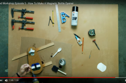 DIY Digital Trends Cascadia Magnetic Bottle Opener